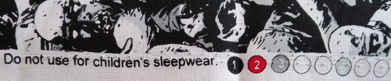 Do. Not use for children's sleepwear!